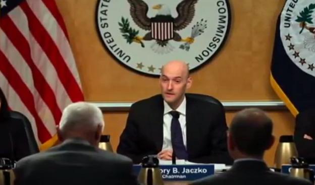 アメリカ原子力規制委員会のグレゴリー・ヤツコ前委員長