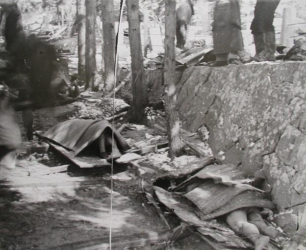 昭和三陸地震と津波の犠牲者(常雲寺参道)
