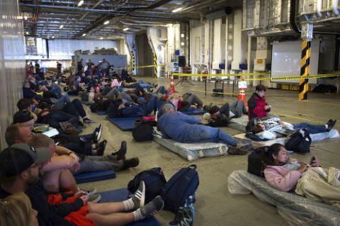ニュージーランド地震の被災者や避難者達